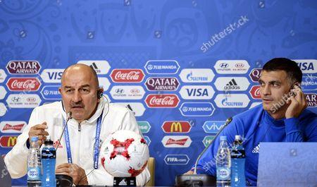 Vladimir Gabulov and Stanislav Cherchesov