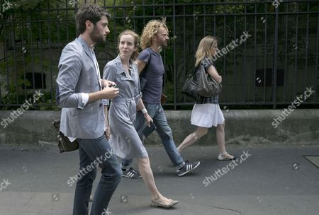 Editorial picture of Nathalie Kosciusko-Morizet leaves Cochin Hospital, Paris, France - 16 Jun 2017