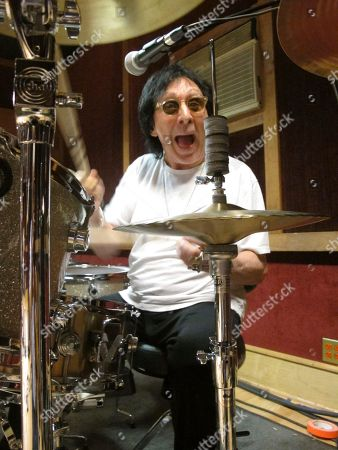 "Stock Photo of Drummer and vocalist Peter Criss rehearses in a New York City studio for his final U.S. performance on Saturday. The co-founding member of Kiss best known for the hit single ""Beth"" says he wants to leave the stage on his own terms after a series of unhappy endings with Kiss, and to say goodbye to his fans"