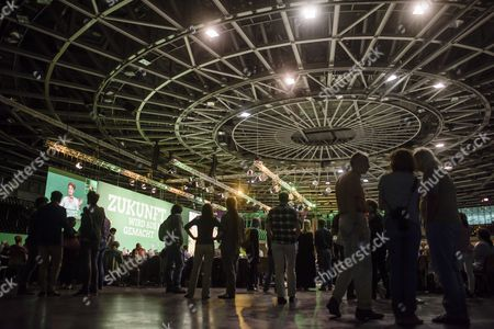 Editorial photo of German Federal Green Party Delegate Conference, Berlin, Germany - 16 Jun 2017
