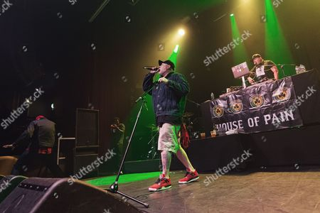 Editorial image of House of Pain in concert at The Ritz, Manchester, UK - 16 Jun 2017