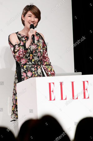 Editorial image of 'ELLE Women in Society' event, Tokyo, Japan - 17 Jun 2017