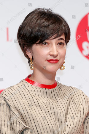 Japanese TV announcer Christel Takigawa