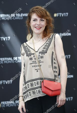 French actress Anne Elisabeth Blateau poses during a photocall for the TV series 'Scenes de menages' at the 57th Monte Carlo Television Festival in Monaco, 17 June 2017. The event will take place from 16 to 20 June.