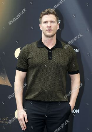 US actor Patrick Heusinger poses for the TV series 'Absentia' at the 57th Monte Carlo Television Festival in Monaco, 17 June 2017. The event will take place from 16 to 20 June.