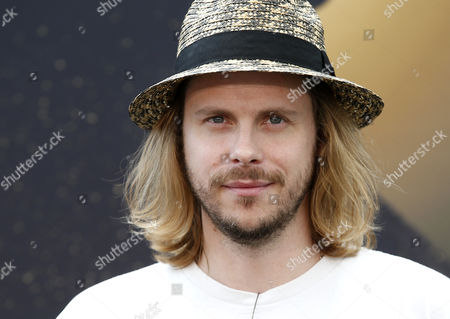 French actor Jean-Baptiste Shelmerdine poses for the TV series 'Nos chers voisins' at the 57th Monte Carlo Television Festival in Monaco, 17 June 2017. The event will take place from 16 to 20 June.