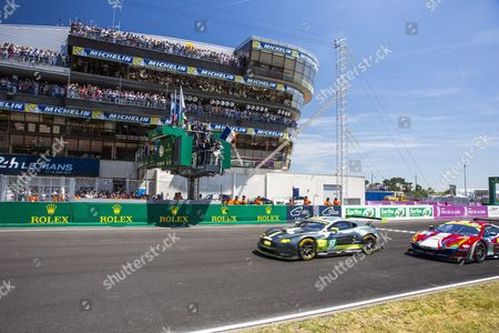 Editorial image of 24 Hours of Le Mans 2017 - 17 Jun 2017