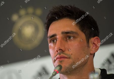 German national soccer team player Lars Stindl attends a press conference held at the Radisson Blu Paradise Resort and Spa conference centre, Sochi, Russia, 17 June 2017.  FIFA Confederations Cup will run in St. Petersburg, Moscow, Kazan and Sochi from 17 June till 02 July.