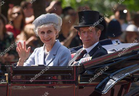Birgitte, Duchess of Gloucester and Prince Edward, Duke of Kent
