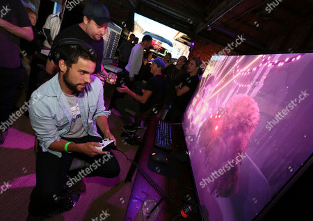 Editorial image of Team Coco + Xbox Gaming Event, Venice, USA - 16 Jun 2017