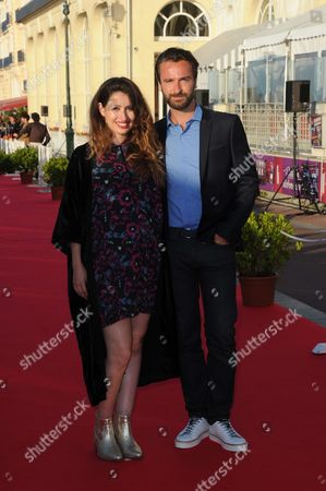 Amaury de Crayencour and Wife