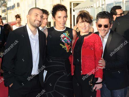 Stock Photo of Ibrahim Maalouf, Aure Atika and Anne Dorval and Manu Payet