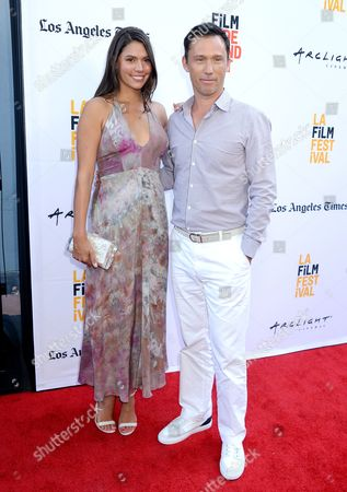 Stock Picture of Jeffrey Donovan and Michelle Woods