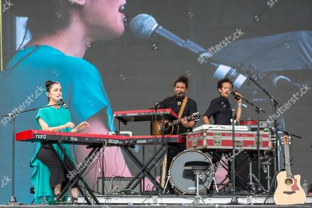Editorial picture of Eaux Claires Music Festival, Wisconsin, USA - 16 Jun 2017
