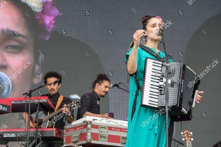 Stock Photo of Julieta Venegas