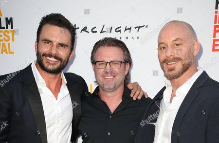 Juan Pablo Raba, Ric Roman Waugh, Matt Gerald