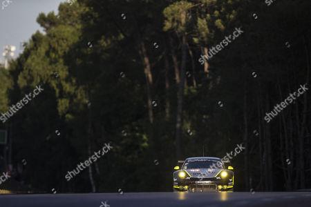 93 PROTON COMPETITION, PORSCHE 911 RSR (991), Patrick LONG USA, Abdulaziz Turki AL FAISAL SAU, Michael HEDLUND USA during the 24 Hours of Le Mans 2017 race at Le Mans, Le Mans
