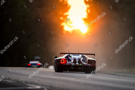 69 FORD CHIP GANASSI TEAM USA, FORD GT Ryan BRISCOE AUS, Richard WESTBROOK GBR, Scott DIXON NZL during the 24 Hours of Le Mans 2017 race at Le Mans, Le Mans