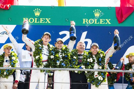 Editorial image of 24 Hours of Le Mans 2017 - 18 Jun 2017