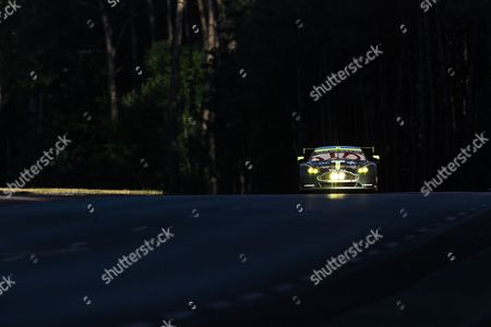Stock Image of 97 ASTON MARTIN RACING, ASTON MARTIN VANTAGE Darren TURNER GBR, Jonathan ADAM GBR, Daniel SERRA BRA  during the 24 Hours of Le Mans 2017 race at Le Mans, Le Mans