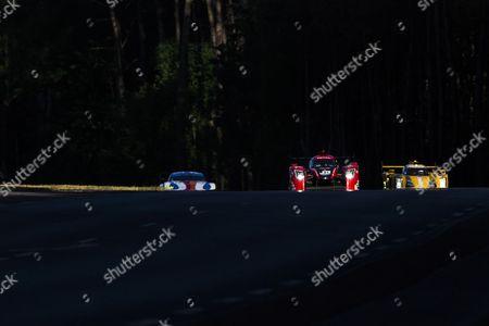 23 PANIS BARTHEZ COMPETITION LIGIER JSP217 - GIBSON, Fabien BARTHEZ FRA, Timothé BURET FRA, Nathanaël BERTHON FRA during the 24 Hours of Le Mans 2017 race at Le Mans, Le Mans