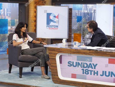 Editorial picture of 'Peston On Sunday' TV show, London, UK - 18 Jun 2017