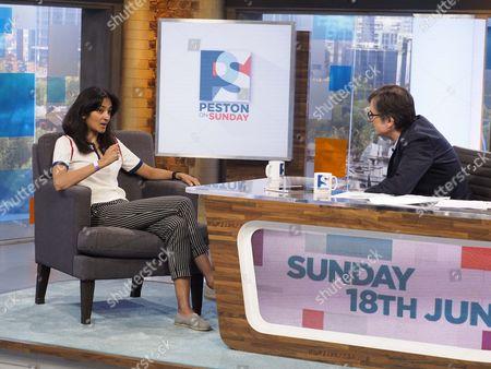 Editorial image of 'Peston On Sunday' TV show, London, UK - 18 Jun 2017