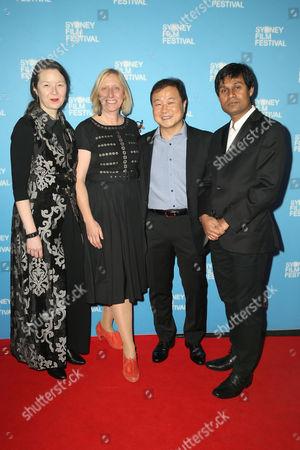 Stock Picture of Jury members Ann Marie Fleming, Rosemary Blight, Kini Kim, Deepak Rauniyar.
