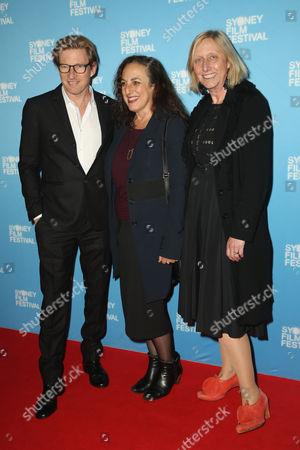 David Wenham, Mitzi Goldman and Rosemary Blight