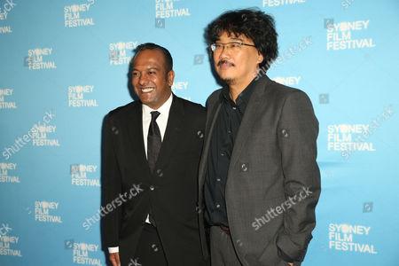 Nashen Moodley (Sydney Film Festival Director) and Bong Joon-Ho