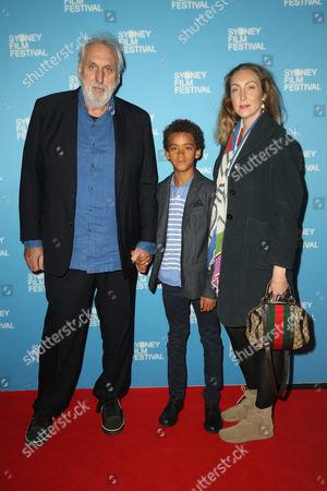 Phillip Noyce, son Luvuyo William and daughter Lucia Noyce
