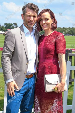 Stock Picture of Victoria Pendleton and Scott Gardner