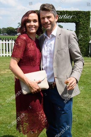 Stock Photo of Victoria Pendleton and Scott Gardner