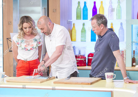 Lydia Bright, Simon Rimmer and Tim Lovejoy