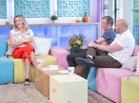 Lydia Bright, Tim Lovejoy and Simon Rimmer