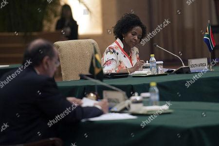 Aloysio Nunes and Maite Nkoana-Mashabane