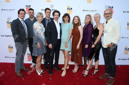 Editorial photo of 'Never Here' and 'Laps' premiere, Los Angeles Film Festival, USA - 18 Jun 2017