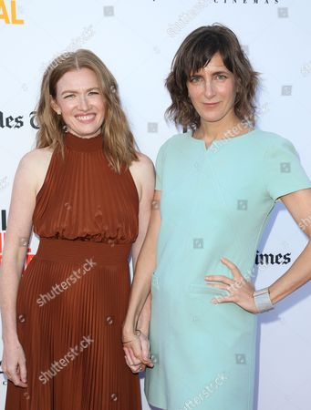 Editorial image of 'Never Here' and 'Laps' premiere, Los Angeles Film Festival, USA - 18 Jun 2017