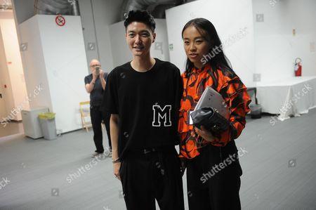 Munsoo Kwon backstage