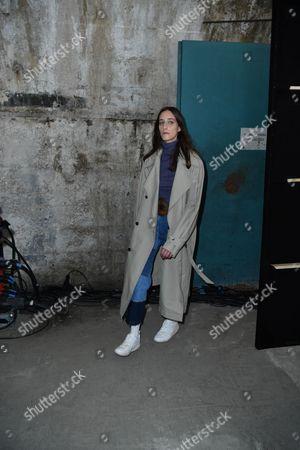 Stock Image of Models backstage