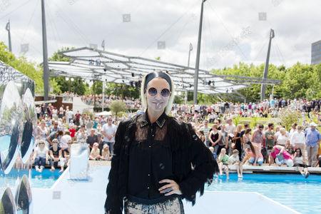 Editorial photo of The tv show ZDF Fernsehgarten, Mainz, Germany - 18 Jun 2017