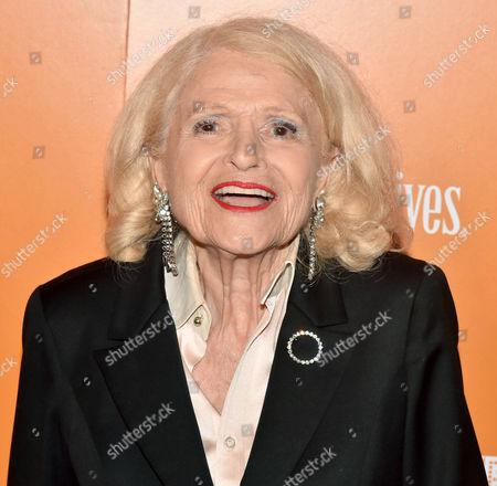 Stock Photo of Edie Windsor