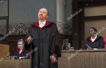 Emma Fielding as Nelson, Forbes Masson as Defence Counsel Biegler, Tanya Moodie as Judge,