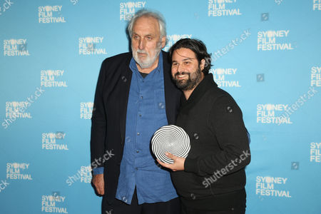 Phillip Noyce and Daniel Agdag with Rouben Mamoulian Award for Best Director and the Yoram Gross Animation Award