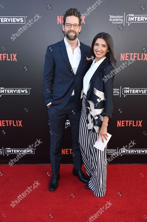 Todd Grinnell and India de Beaufort