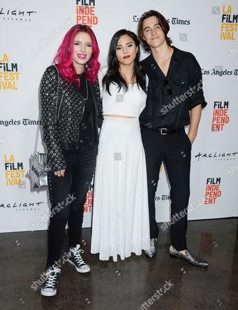 Bella Thorne, Anna Akana and Nash Grier