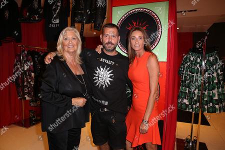 Stock Photo of Giovina Moretti, Fausto Puglisi, Laura Moretti