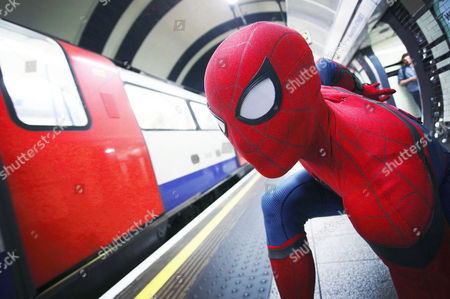 Editorial photo of 'Spider-Man: Homecoming' comes to London, UK - 20 Jun 2017