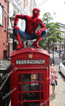 Editorial picture of 'Spider-Man: Homecoming' comes to London, UK - 20 Jun 2017