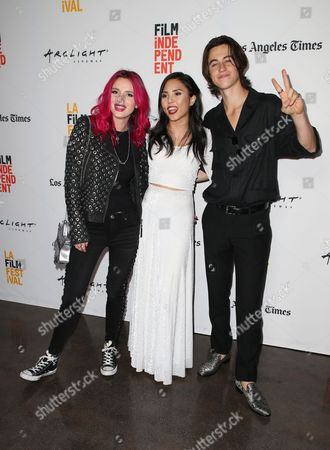 Stock Picture of Bella Thorne, Anna Akana, Nash Grier